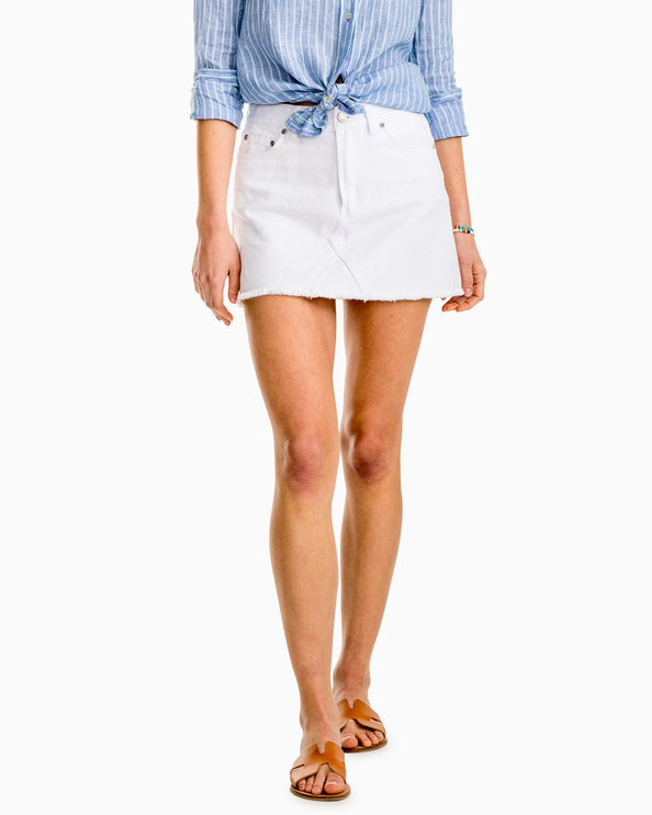e61f6f63d Khaki Shorts for Women | White Denim Shorts & Skirts | Southern Tide