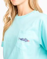 Women's Printed Fish Graphic T-shirt | Southern Tide