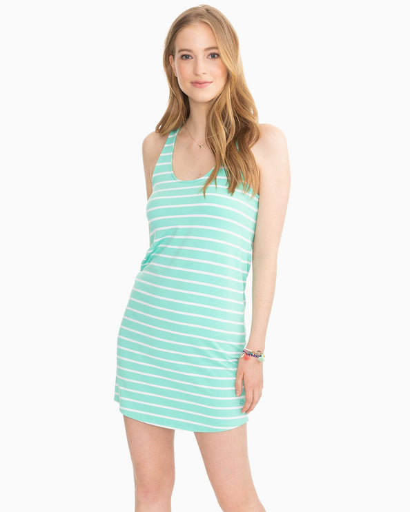 Reagan Stripe Performance Dress