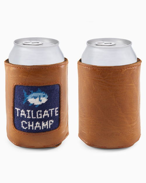 ST Smather's & Branson Needlepoint Tailgate Can Caddie | Southern Tide