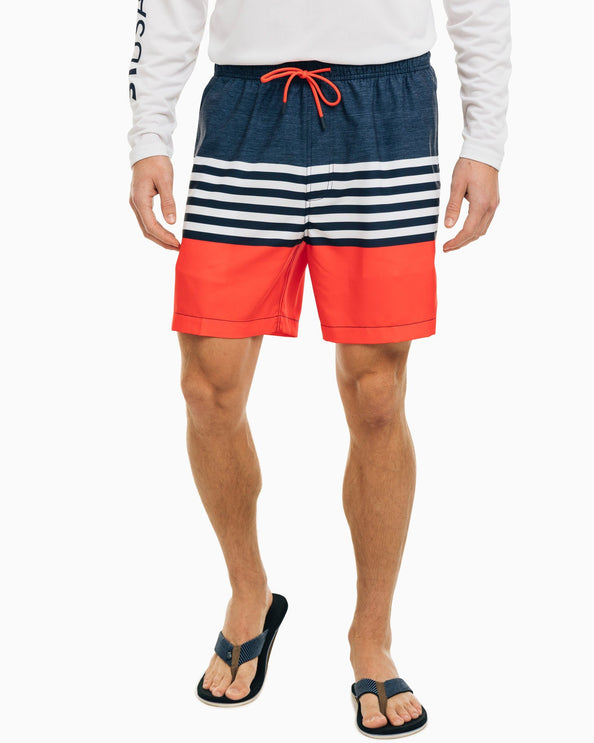 ST USA Striped Swim Trunk