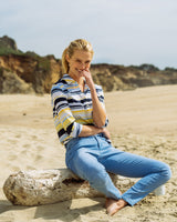 Striped Hadley Intercoastal Performance Popover | Southern Tide