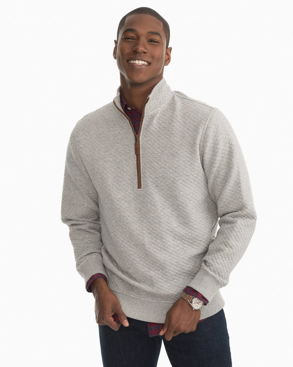 Sundown Quilted Quarter Zip Pullover