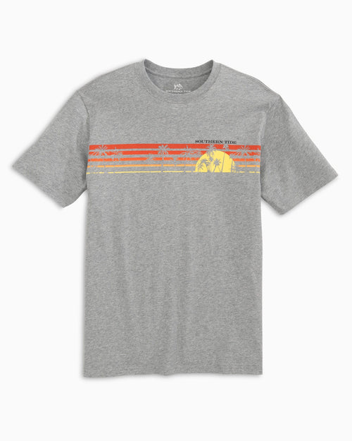 Sunset Chest Stripe T-Shirt | Southern Tide