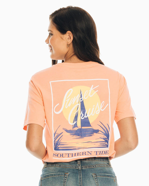Sunset Cruise T-Shirt | Southern Tide