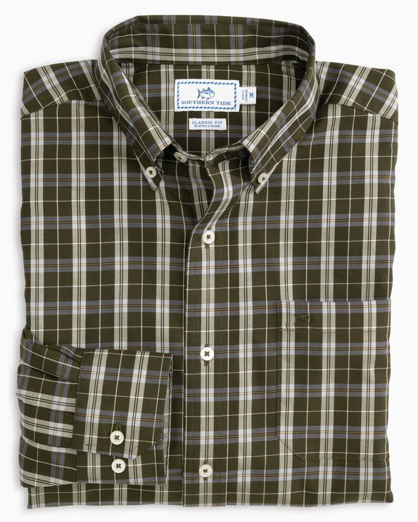 Tailshaft Plaid Button Down Shirt