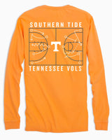 Tennessee Vols Long Sleeve Basketball T-Shirt | Southern Tide