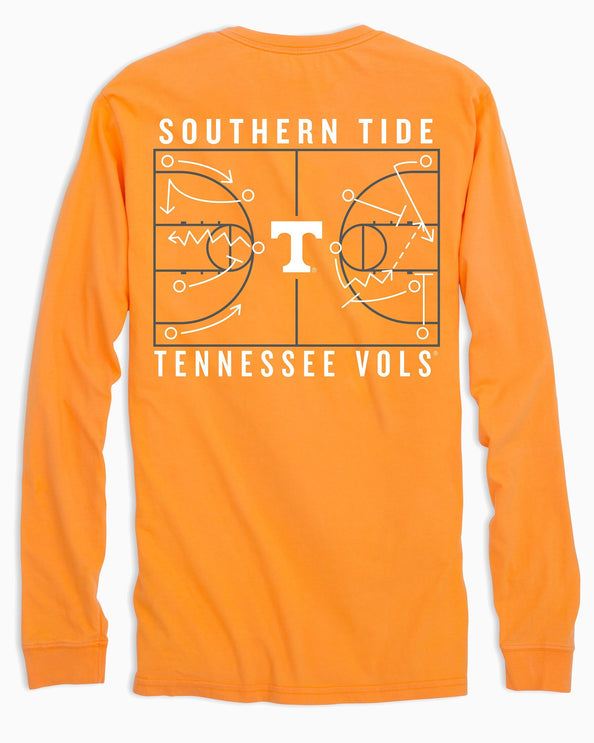 Tennessee Vols Long Sleeve Basketball T-Shirt