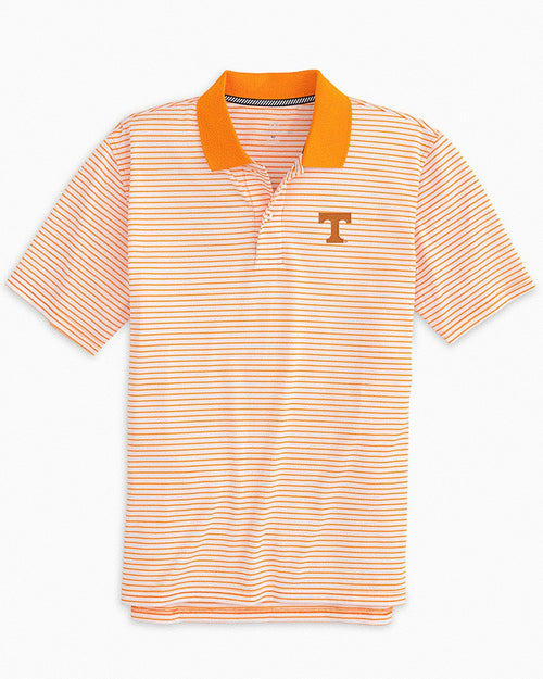 Tennessee Volunteers Pique Striped Polo Shirt | Southern Tide