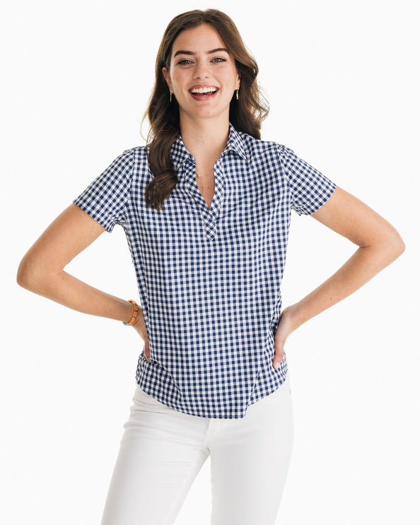 Tessa Intercoastal Popover Shirt