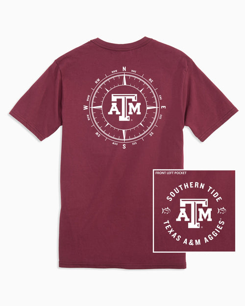 Texas A&M Aggies Compass T-Shirt | Southern Tide