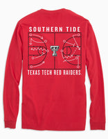 Texas Tech Red Raiders Long Sleeve Basketball T-Shirt | Southern Tide