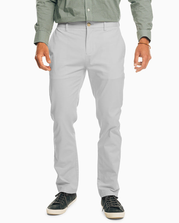 The New Channel Marker Chino Pant - Seagull Grey