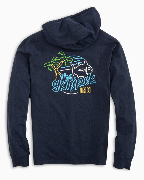 The Skipjack Inn Long Sleeve Hoodie T-shirt | Southern Tide