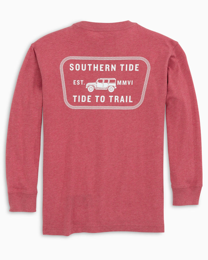 Kids Tide to Trail Truck Long Sleeve T-Shirt