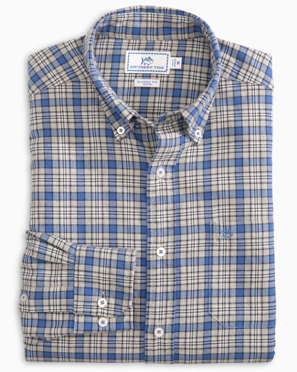 Topside Plaid Button Down Shirt