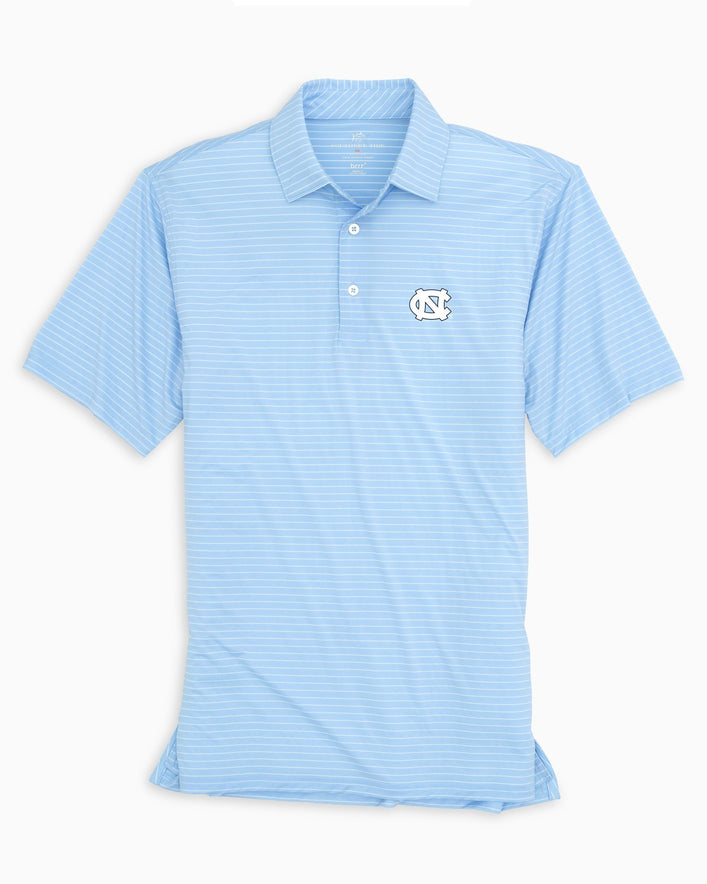 UNC Tar Heels BRRR® Striped Polo Shirt