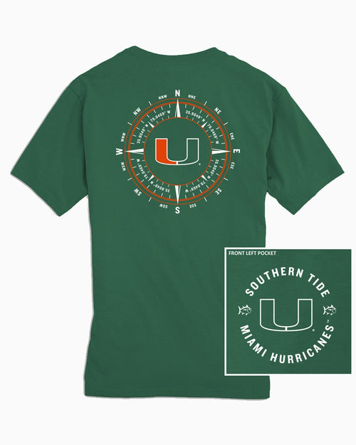 University of Miami Compass T-Shirt