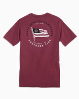 USC Gamecocks American Flag T-Shirt | Southern Tide