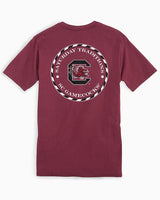 USC Gamecocks Circle Short Sleeve T-Shirt | Southern Tide