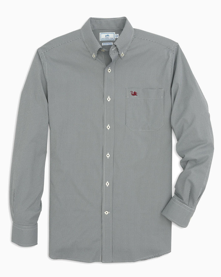 USC Gamecocks Gingham Button Down Shirt