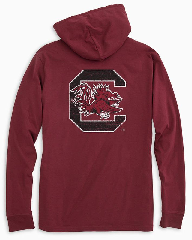 USC Gamecocks Long Sleeve Hoodie T-Shirt | Southern Tide