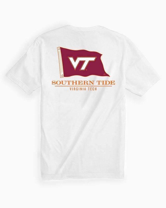 Virginia Tech Hokies Short Sleeve Flag T-Shirt | Southern Tide