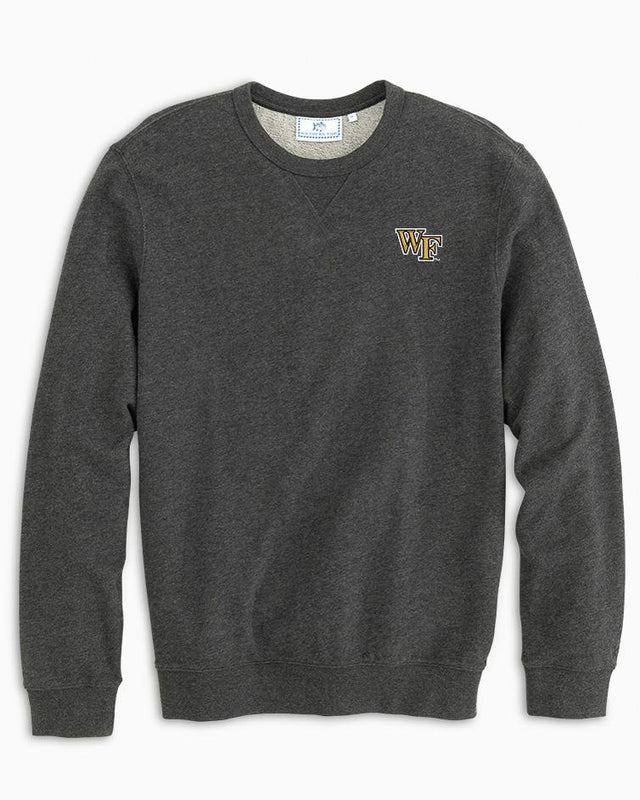 Wake Forest Upper Deck Pullover Sweater | Southern Tide
