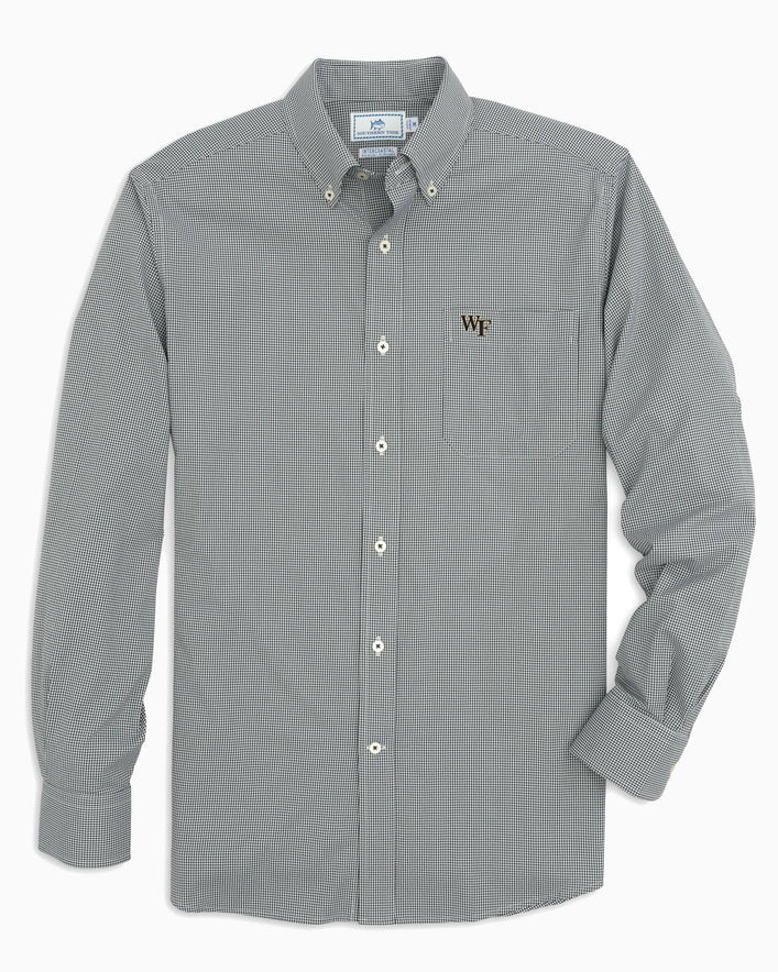 Wake Forest Gingham Button Down Shirt