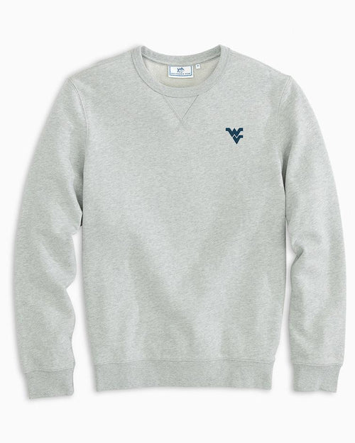 West Virginia Upper Deck Pullover Sweater | Southern Tide