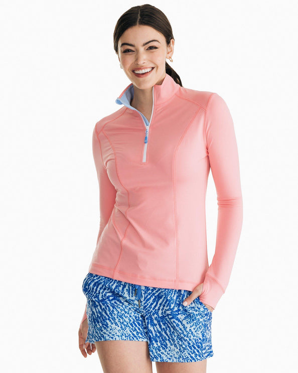 Womens Skipjack Athletic Quarter Zip