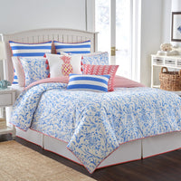 Coastal Ikat Reversible Comforter Set