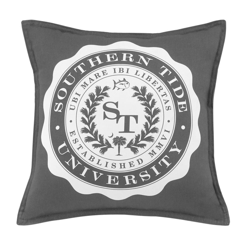 Skipjack Chino University Decorative Pillow | Southern Tide