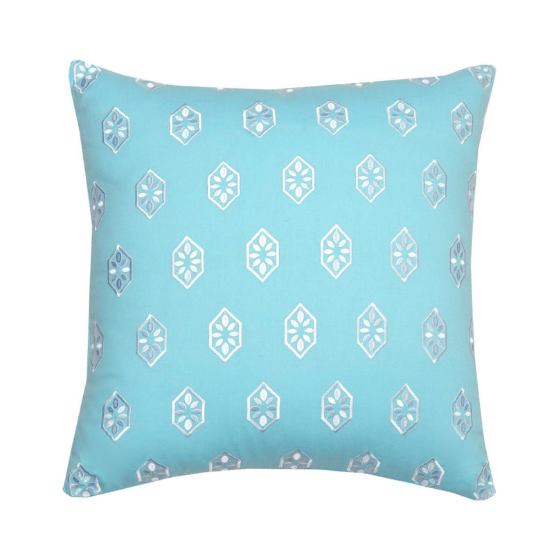 Summerville Embroidered Decorative Pillow | Southern Tide