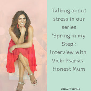 Spring in my Step: Interview with Vicki Psarias
