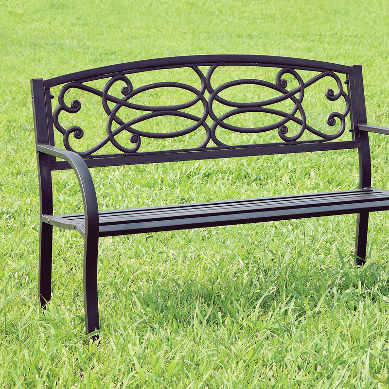 Furniture of America POTTER PATIO BENCH