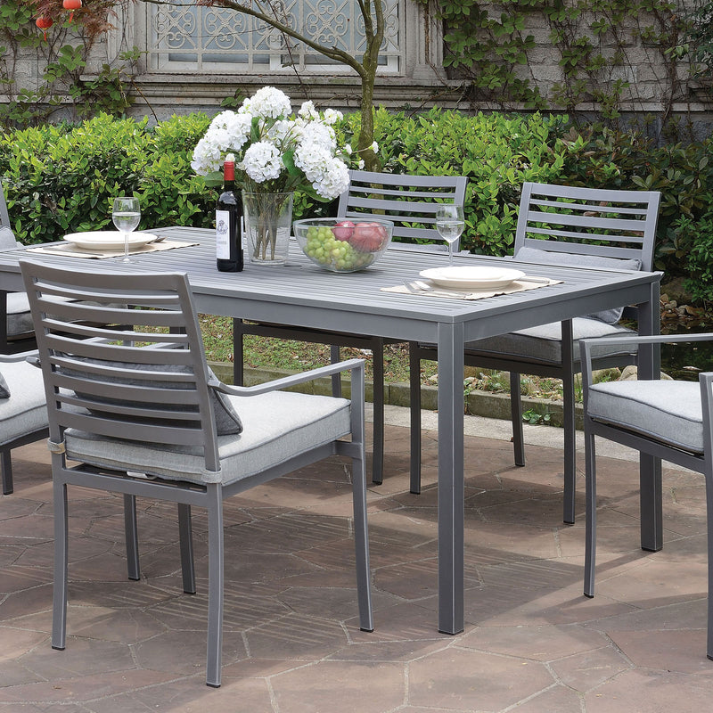 Furniture of America COLOME PATIO DINING TABLE