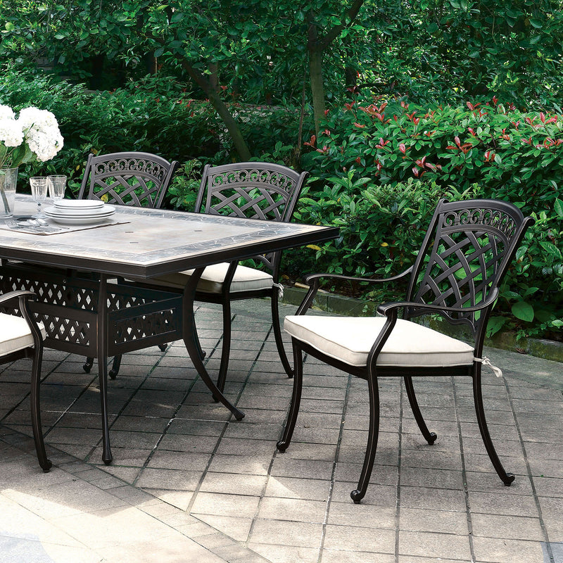 Furniture of America CHARISSA PATIO TABLE