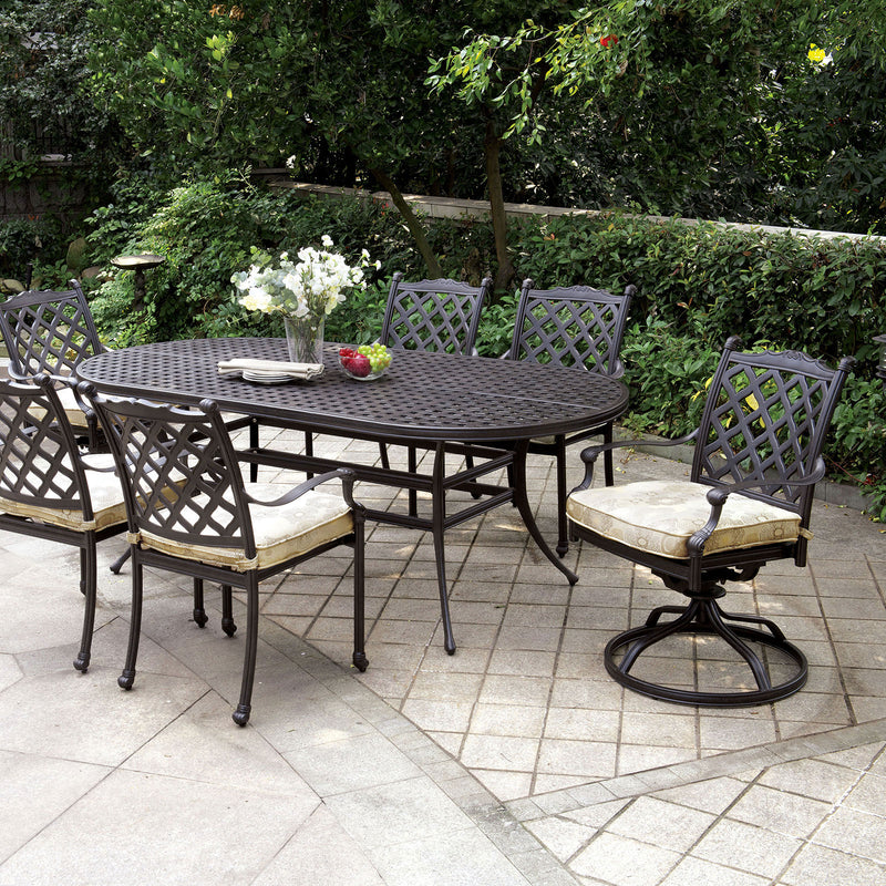 Furniture of America CHIARA I PATIO DINING TABLE