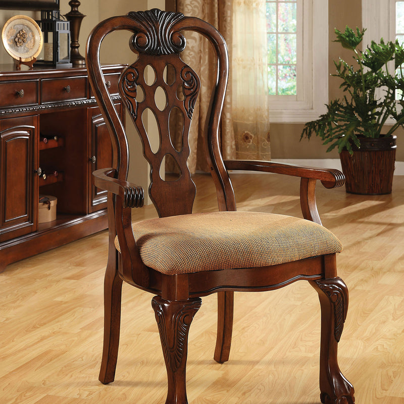 Furniture of America GEORGE TOWN ARM CHAIR (2/BOX)