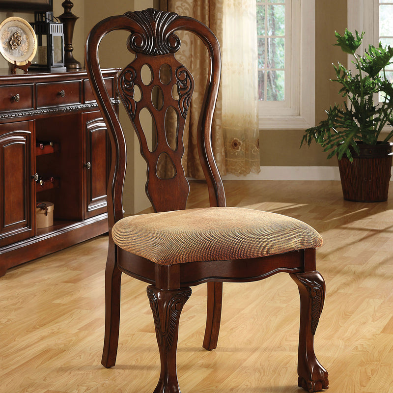Furniture of America GEORGE TOWN SIDE CHAIR (2/BOX)