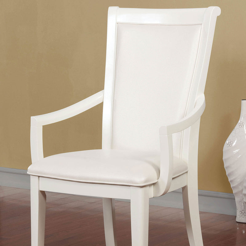 Furniture of America MADELINE ARM CHAIR (2/CTN)