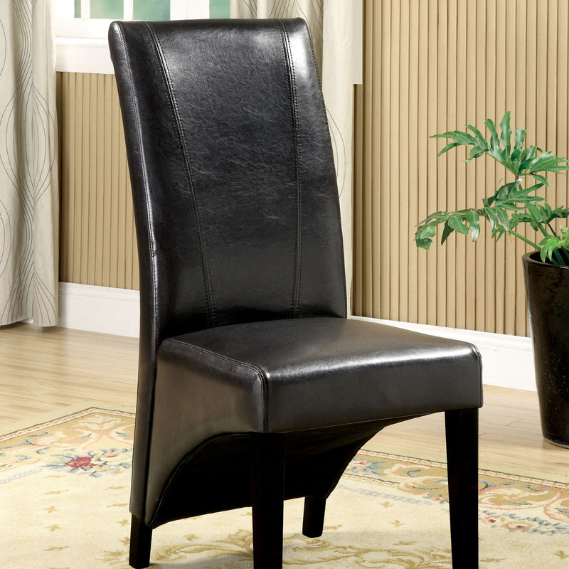 Furniture of America MADISON SIDE CHAIR (2/BOX)