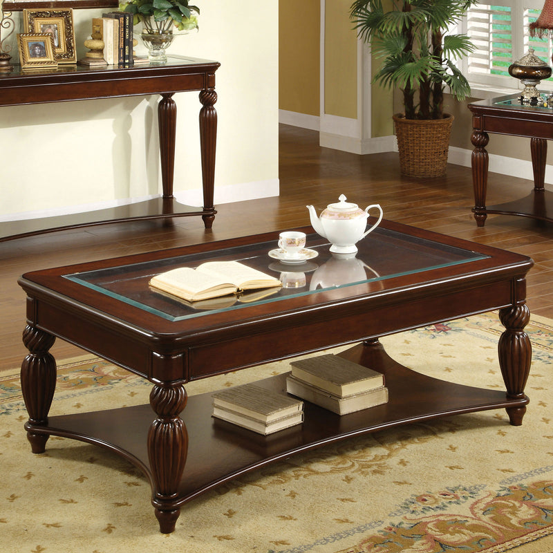 Furniture of America WINDSOR COFFEE TABLE