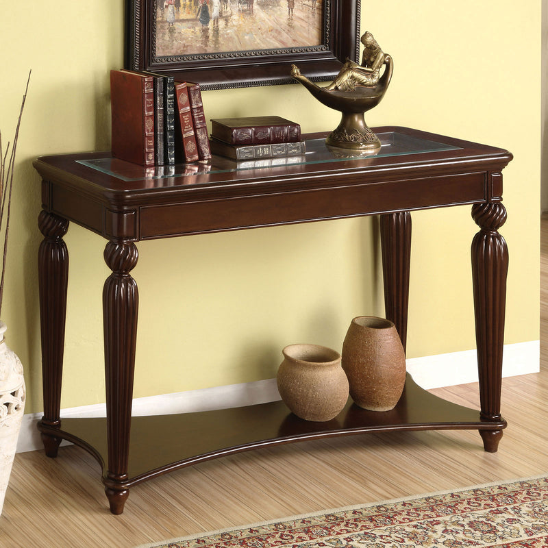 Furniture of America WINDSOR SOFA TABLE