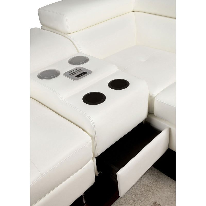 Furniture of America KEMI SPEAKER CONSOLE