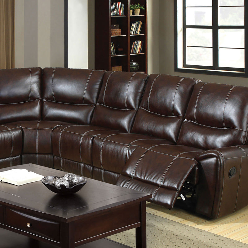 Furniture of America KEYSTONE SECTIONAL