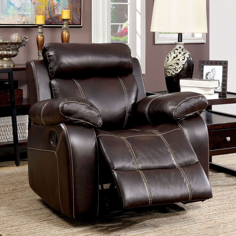 Furniture of America CHANCELLOR RECLINER