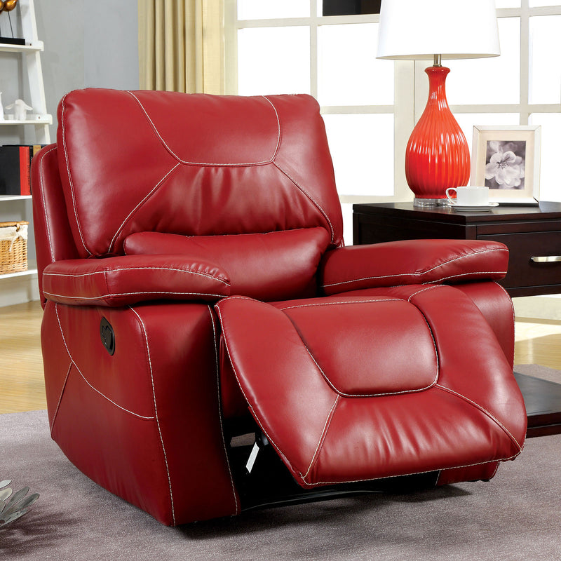 Furniture of America NEWBURG GLIDER RECLINER