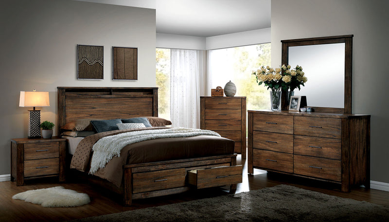 Furniture of America ELKTON E.KING BED